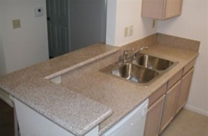 Rustic Gold Granite Countertop