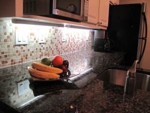 Tan Brown Granite Kitchen Countertop